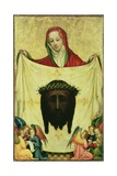 St. Veronica with the Shroud of Christ, C.1420 Giclee Print by  Master of the Munich St. Veronica