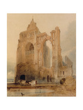 Croyland Abbey, Crowland Giclee Print by John Sell Cotman