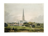 Norwich Cathedral, 1802, Engraved by Edward Bell (Fl.1794-1847) Giclee Print by Robert Ladbrooke