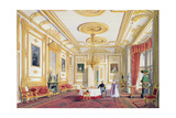 The White Drawing Room at Windsor Castle Giclee Print by Joseph Nash