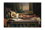 The Death of Cleopatra, 1841 Giclee Print by German von Bohn