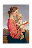 Virgin and Child Giclee Print by William Dyce