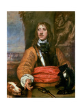 Portrait of Sir Charles Lucas Giclee Print by William Dobson