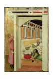 The Charity of St Nicholas of Bari Giclee Print by Ambrogio Lorenzetti