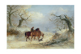 Crossing the Common - Scene Near Ipswich Giclee Print by Thomas Smythe