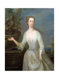 Portrait of Francis Godolphin Duchess of Newcastle (D.1776), C.1720 Giclee Print by Charles Jervas