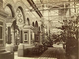 Sydenham: Crystal Palace, Entrance to the Byzantine Court, 1854 Photographic Print by Philip Henry Delamotte