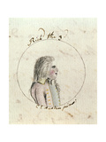 Portrait of Richard III (1452-85) C.1790 Giclee Print by Cassandra Austen