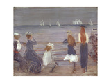 Watching Cowes Regatta, 1892 Giclee Print by Philip Wilson Steer