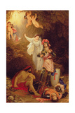 Una Delivering the Red Cross Knight from the Cave of Despair, C.1830 Giclee Print by Sir Charles Lock Eastlake