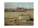 The Plumbago Factory, Battersea Giclee Print by Walter Greaves
