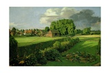 Golding Constable's Flower Garden, 1815 Giclee Print by John Constable