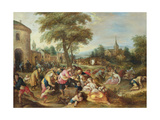 The Works of Mercy Giclee Print by Frans II the Younger Francken