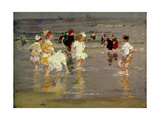 Children on the Beach Impression giclée par Edward Henry Potthast
