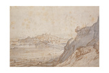 A View of Rye from Point Hill Giclee Print by Jacob Esselens