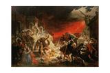 The Last Day of Pompeii, 1833 Giclee Print by Karl Pavlovich Bryullov