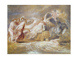 Rape of Proserpine Reproduction procédé giclée par Jean-Honore Fragonard