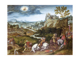 The Conversion of St. Paul Giclee Print by Jan Mostaert