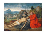 Pieta Giclee Print by Quentin Massys or Metsys