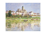 The Church at Vetheuil, 1880 Giclee Print by Claude Monet