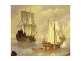 The Landing of the Prince of Orange Giclee Print by Peter Monamy