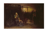 "Grief (""Out of Darkness into Light""), C.1871 Giclee Print by Jozef Israels"