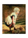 Wait for Me! (Returning Home from School) Giclee Print by Sophie Anderson
