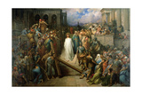 Christ Leaves His Trial, 1874-80 Giclee Print by Gustave Doré