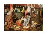The Meat Stall, 1568 Giclée-Druck von Pieter Aertsen