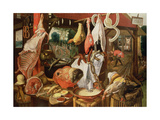 The Meat Stall, 1568 Giclee Print by Pieter Aertsen