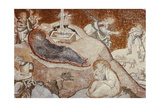 The Nativity, from the Chora Monastery, Byzantine, C.14th Century Giclee Print