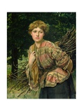 The Gamekeeper's Daughter, 1875 Giclee Print by Valentine Cameron Prinsep