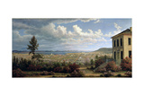 Hobart Town, C.1832 Giclee Print by John Glover