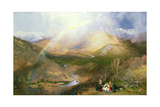 The Rainbow, 1862 Giclee Print by Henry Clarence Whaite