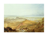 View of Edinburgh from Arthur's Seat Giclee Print by Hugh William Williams