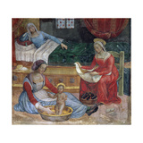 The Birth of St. John the Baptist Giclee Print by Bernardino di Betto Pinturicchio