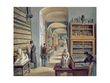 The Second Room of Egyptian Antiquities in the Ambraser Gallery of the Lower Belvedere, 1879 Giclee Print by Carl Goebel