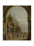 St. Mark's, Venice, C.1756 Giclee Print by  Canaletto