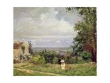 Louveciennes, 1870 Reproduction procédé giclée par Camille Pissarro