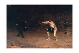 To the Death, 1877 Giclee Print by John Pettie
