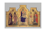 Madonna and Child with St. Anthony Abbot, St. John the Baptist, St. Lawrence and St. Julian, 1404 Giclee Print by Lorenzo di Niccolo Gerini
