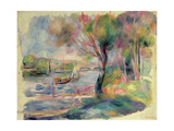 The Seine at Argenteuil, 1892 Giclee Print by Pierre-Auguste Renoir
