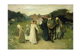 Death of Her First Born Giclee Print by Frank Holl