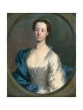 Portrait of Catherine Gale (1716-52), 1740 Giclee Print by Allan Ramsay