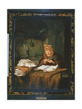 The Old Philosopher Giclee Print by Salomon Koninck