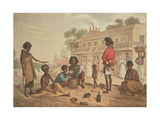 Natives of New South Wales as Seen in the Streets of Sydney, Plate 4 of Part 1 of 'Views in New… Giclee Print by Augustus Earle