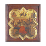 The Death of St. Francis Giclee Print by Taddeo Gaddi