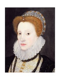 Portrait of a Woman (Said to Be Elizabeth I), 1576 Giclee Print by George Gower