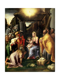 Adoration of the Kings Giclee Print by Taddeo Zuccaro