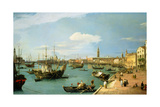 The Riva Degli Schiavoni, Looking West Giclee Print by  Canaletto